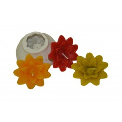 flower silicon candle mould