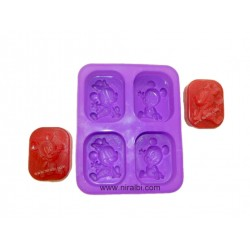 Rs. 10 Stand candle mould