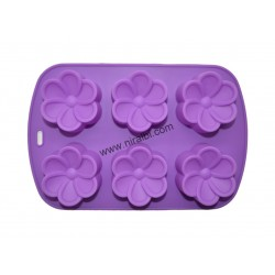 Big modak shape silicone mould