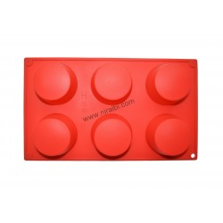 Curve round silicone candle mould