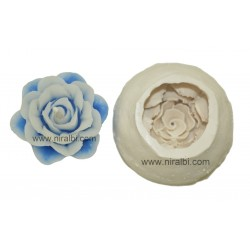 Leaf design pillar candle mould