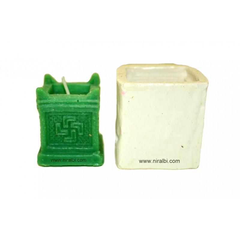 SL - 537 - Medium Designer Pillar candle mould