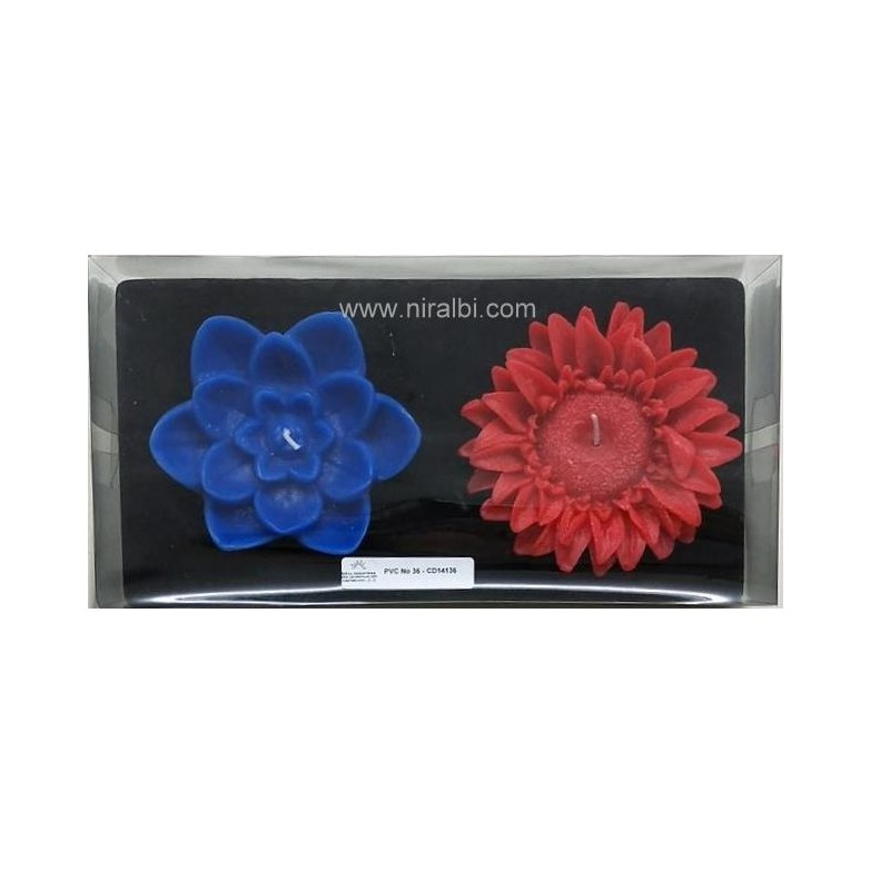 Heart Rose Designer Mould