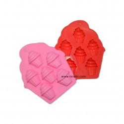 Leaf Designer Pillar Candle Mould