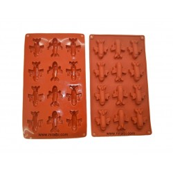small owl shape silicone candle mould