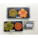 SL - 504 Flower candle mould