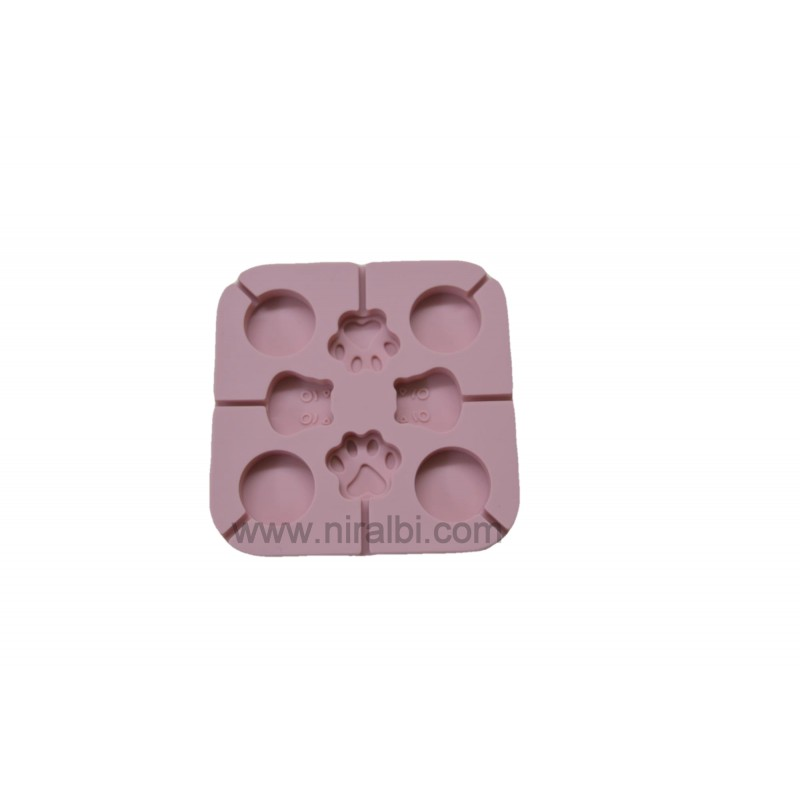 Small Designer Triangle Pillar Candle Mould