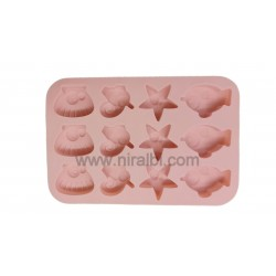 SP31179 - ROSE FLOWERS LOAF SOAP MOULD