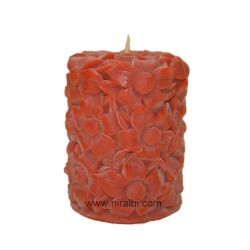 wonders of the world pillar candle mould