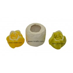 designer flower floating candle mould