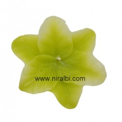 Heart shape small rose flower floating candle mould