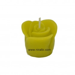 rose silicon candle mould