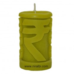 Small Rose Petal Designer Pillar Candle Mould