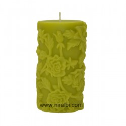 Dotted & Line  Small Pillar Candle Mould