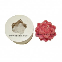 Leaf designer small pillar candle mould