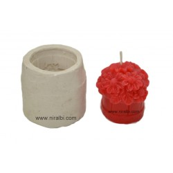 Cube Design Candle Mould