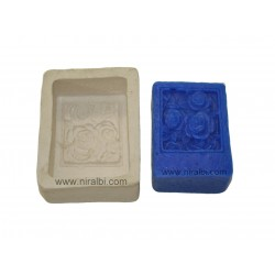 clematis flower floating candle mould
