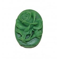 Daisy small flower design pillar candle mould