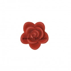 Cherry leaf small pillar candle mould