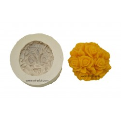 Medium Aster Candle Mould