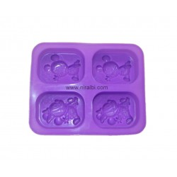 Rs.5 stand candle mould A