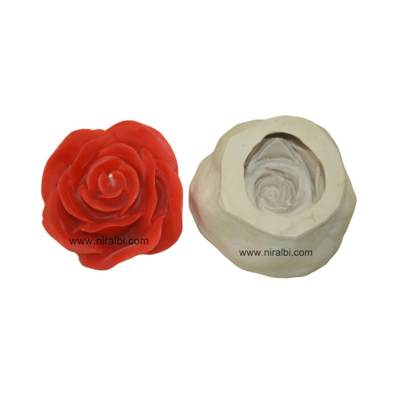 SL - 536 - Small Designer Pillar candle Mould
