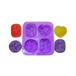 Rs. 1 candle mould with Base stand