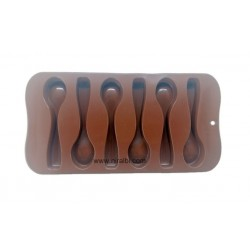 BK51165 Double Heart Chocolate Mould
