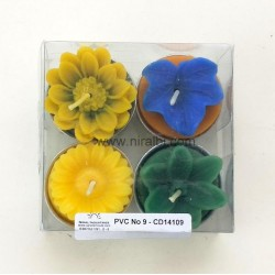 Designer Silicone Candle Mould - Combo 17